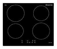 Black Glass 59cm Wide, 4 Zone Induction Hob With Touch Control