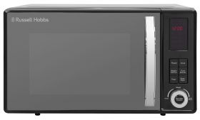 23 Litre Black Digital Microwave