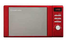 Legacy 20 Litre Red Digital Microwave