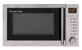 20 Litre Stainless Steel Digital Microwave With Grill