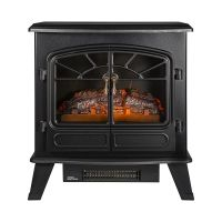 1.85KW ELECTRIC STOVE FIRE BLACK