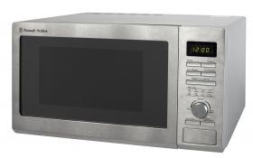 25 Litre Stainless Steel Digital Microwave