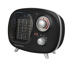BLACK 1.5KW RETRO PTC HEATER