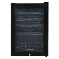 20 Bottle Lockable Wine Cooler Black