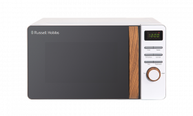 SCANDI COMPACT WHITE DIGITAL MICROWAVE
