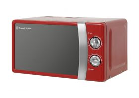 Classic Red 17 Litre Manual Microwave
